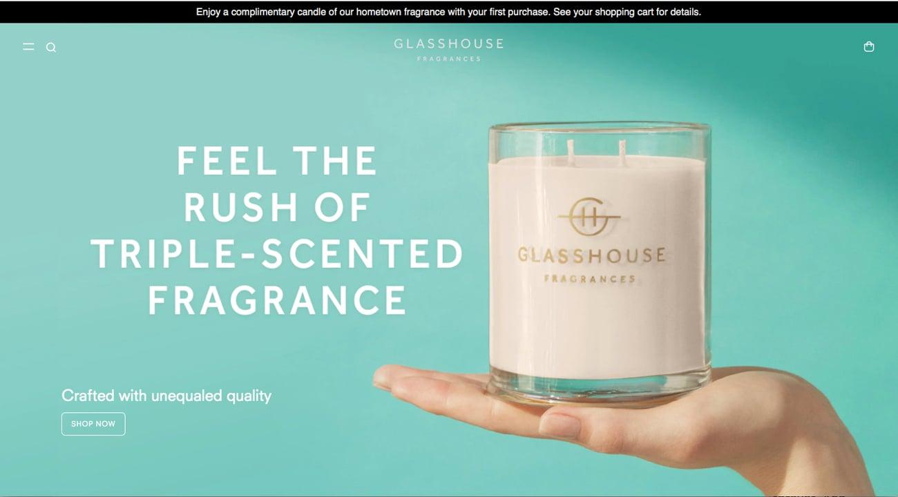 Glasshouse Fragrences.Web.News Post
