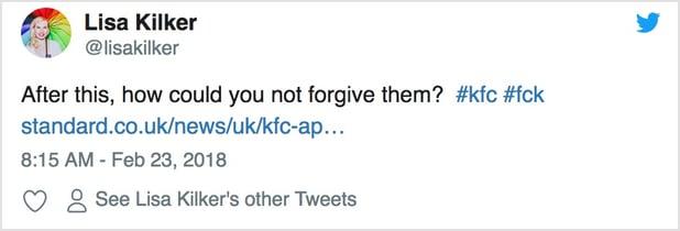 KFC Tweet 3