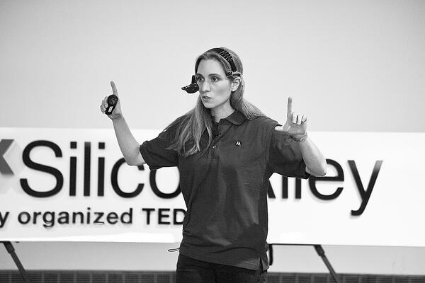 Nicole Tricoukes at TEDx