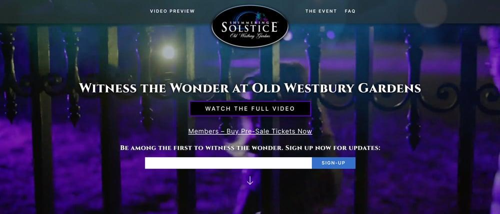 Old Westbury Gardens Winter Solstice.News