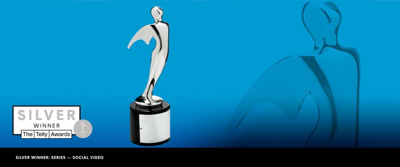 Telly Award Silver News