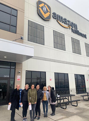 EGC Group at Amazon's Fulfillment Center