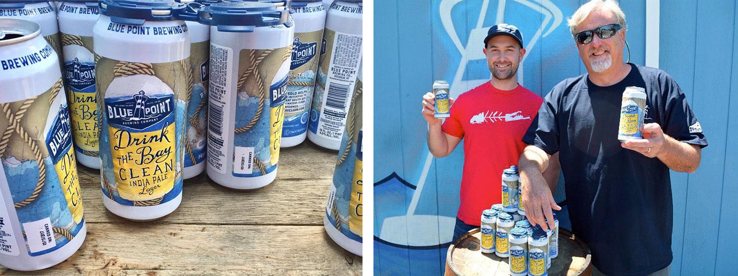 Beer label & Reid Carleton and Mark Burford