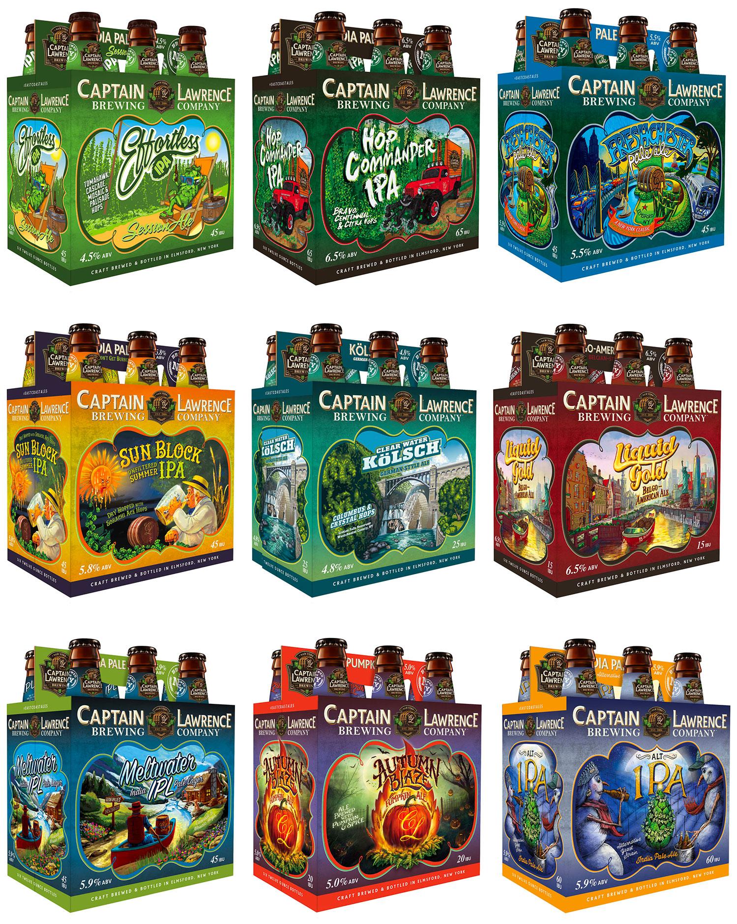 Captain Lawrence Beer Brands
