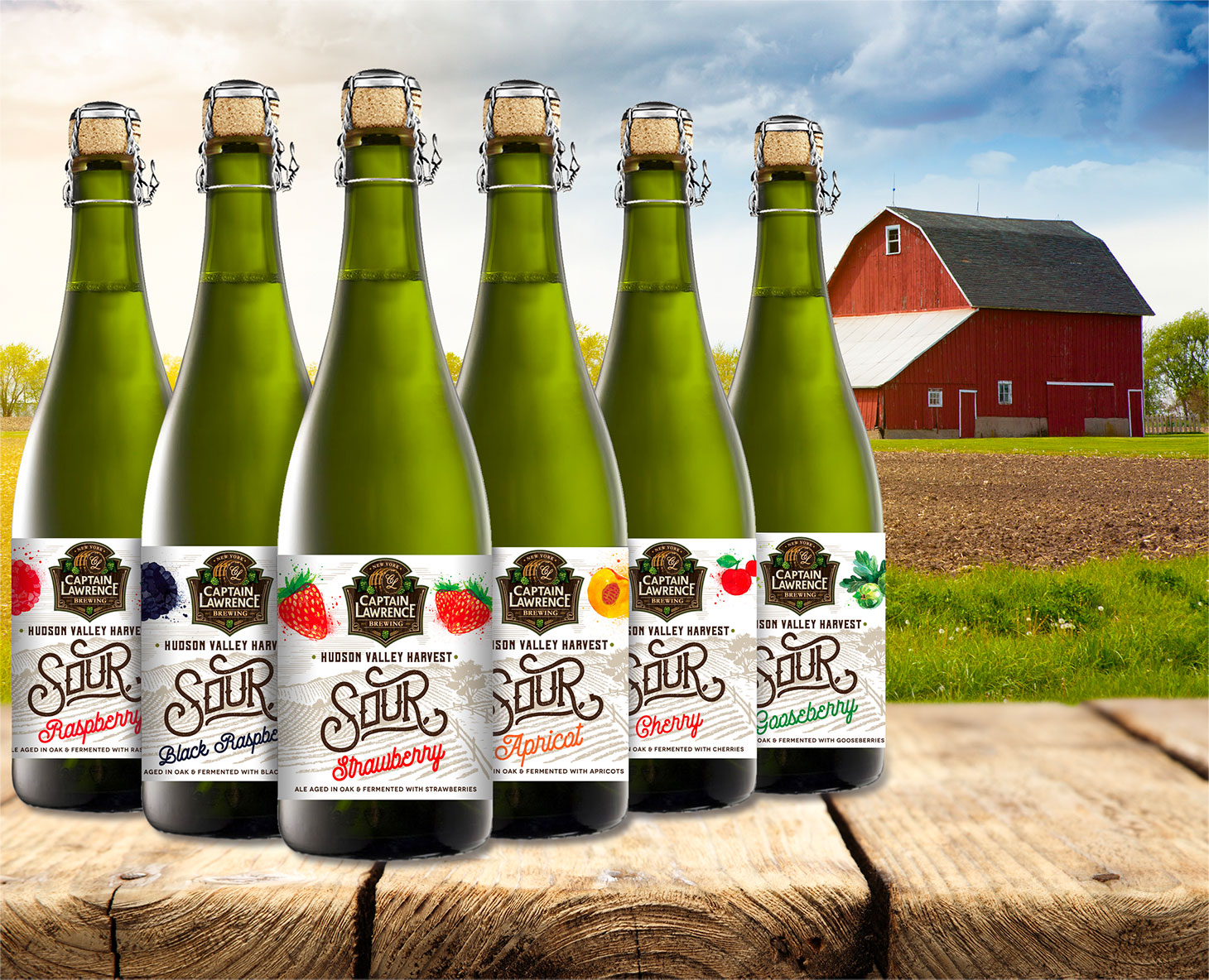 Captain Lawrence Brewing's new Hudson Valley Harvest line
