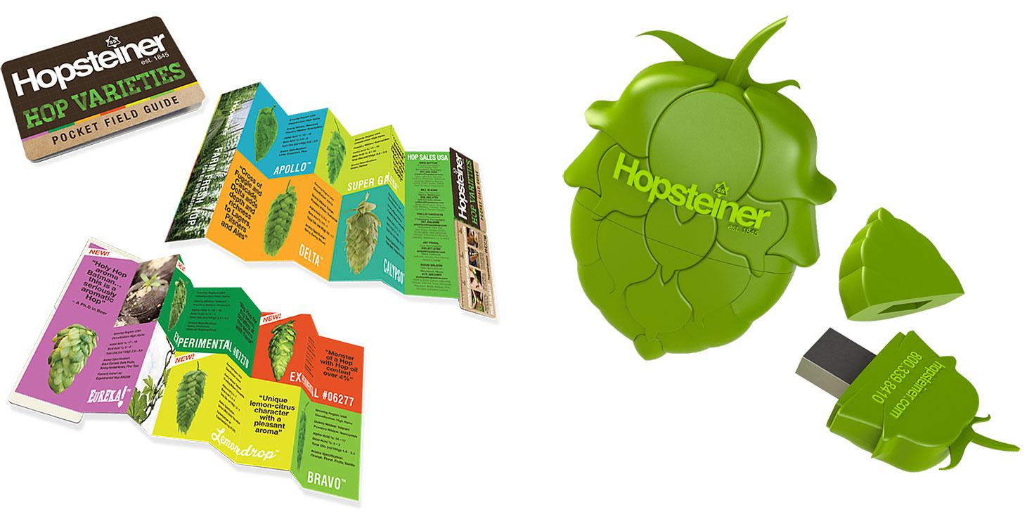 Hop Varieties Pocket Field Guide