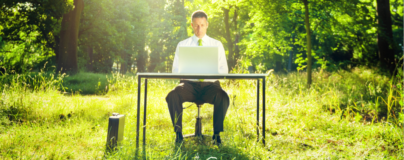 Having Your Office Anywhere: Some Insights on Working Remotely