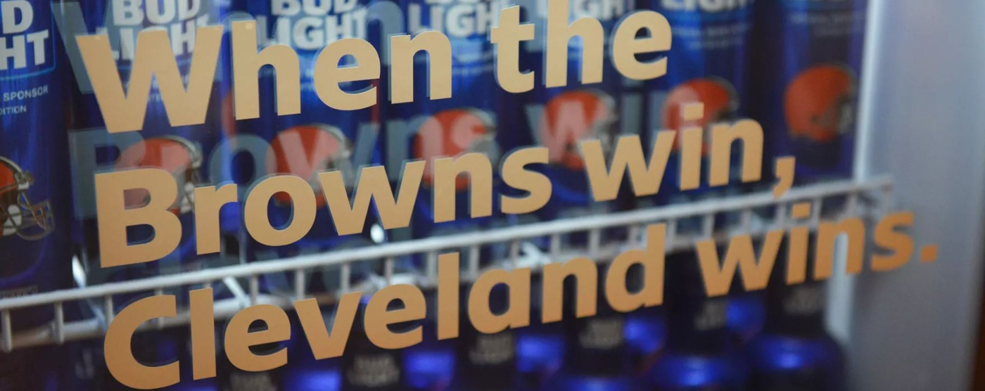 Cleveland Browns and Bud LIght Campaign