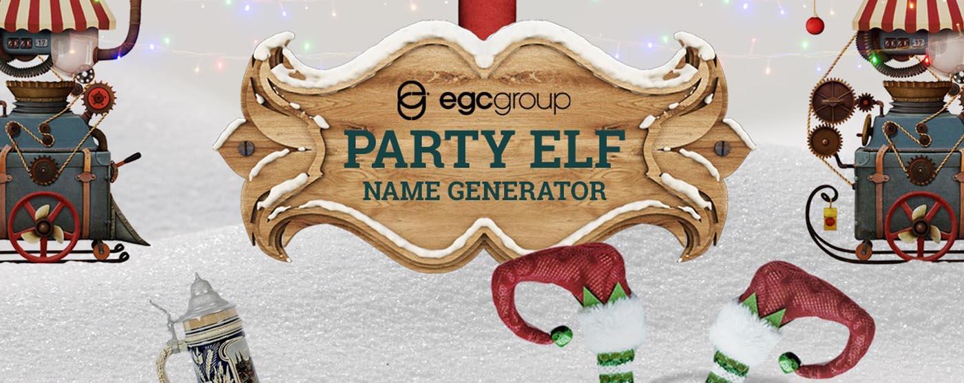 'Tis The Season To Generate Your Elf Name!