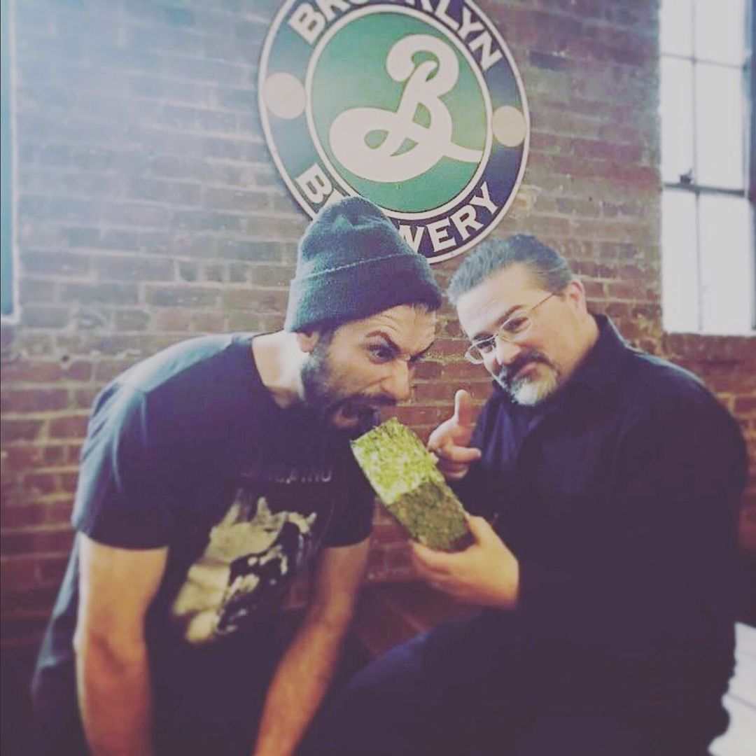Brooklyn Brewery Hops Photoshoot - behind-the-scenes with @nikokrommydas and @furmanfoto 2017