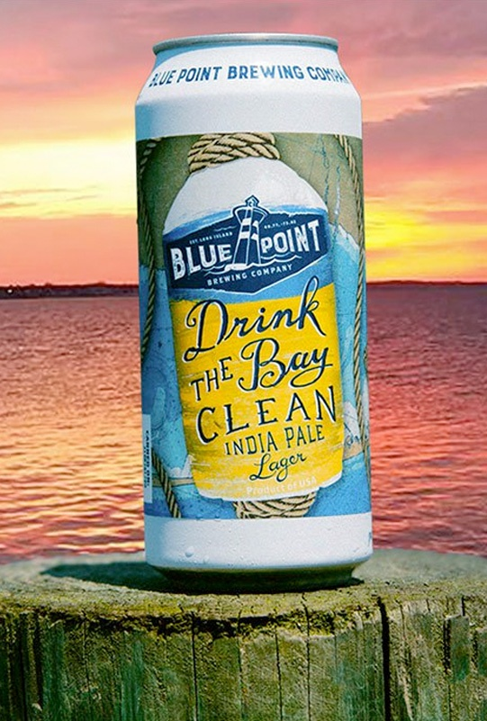 Blue Point Brewing Company - Drink The Bay Clean