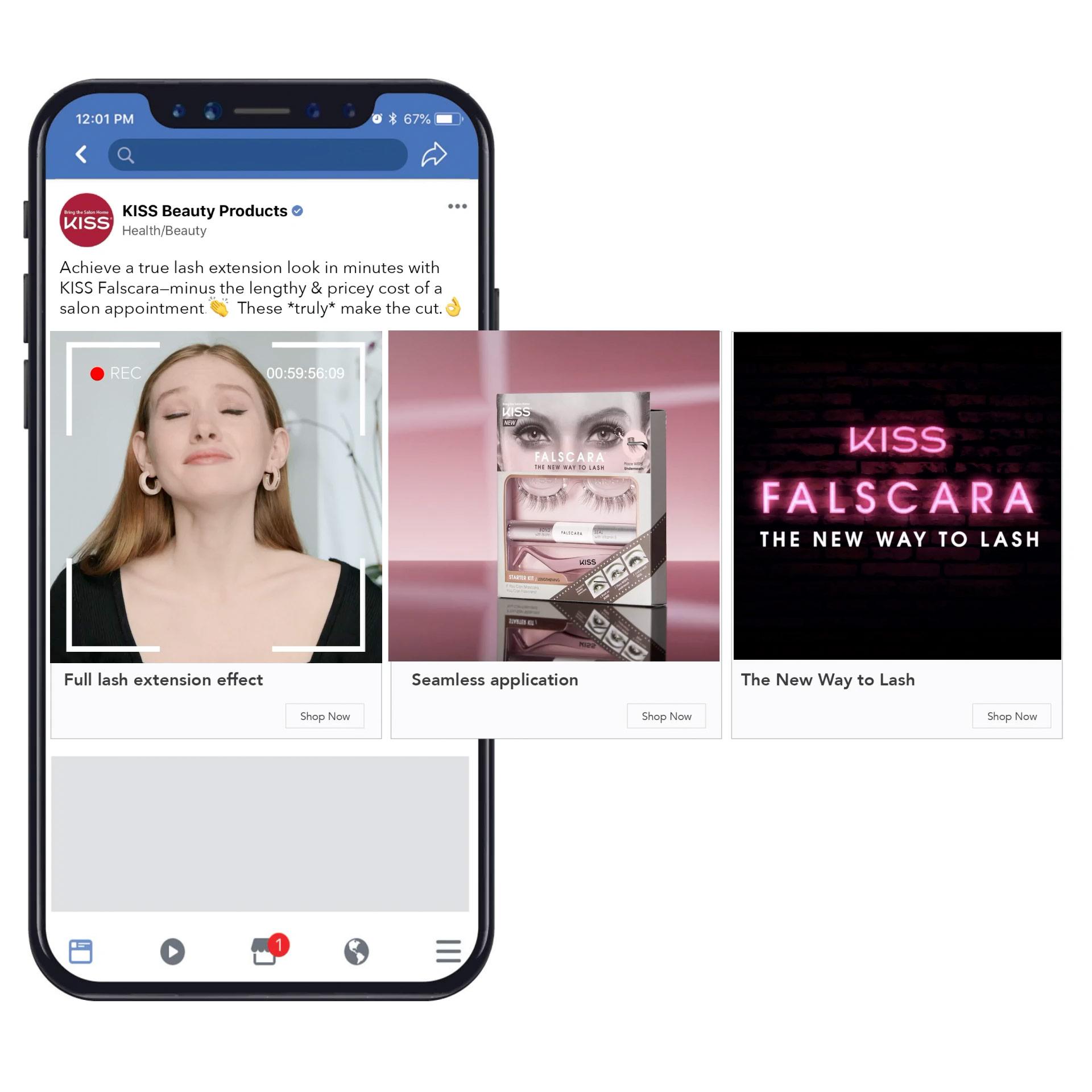 Social Ad Carousel screenshot