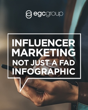 Influencer Marketing Not Just A Fad Infographic