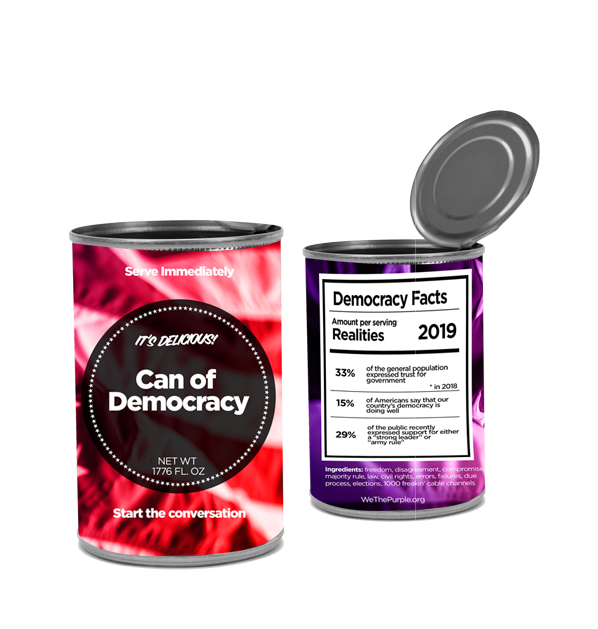 Open up a can of democracy